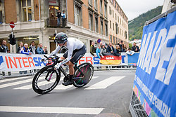 Lisa Brennauer at UCI Road World Championships Elite Women's Individual Time Trial 2017 a 21.1 km time trial in Bergen, Norway on September 19, 2017. (Photo by Sean Robinson/Velofocus)