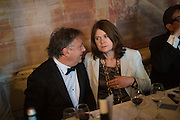 RAYMOND BLANC; LUCINDA BREDIN, Opening of Grange Park Opera, Fiddler on the Roof, Grange Park Opera, Bishop's Sutton, <br /> Alresford, 4 June 2015
