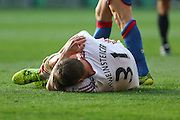 Bastian Schweinsteiger of Manchester United during the Barclays Premier League match between Crystal Palace and Manchester United at Selhurst Park, London, England on 31 October 2015. Photo by Ellie Hoad.