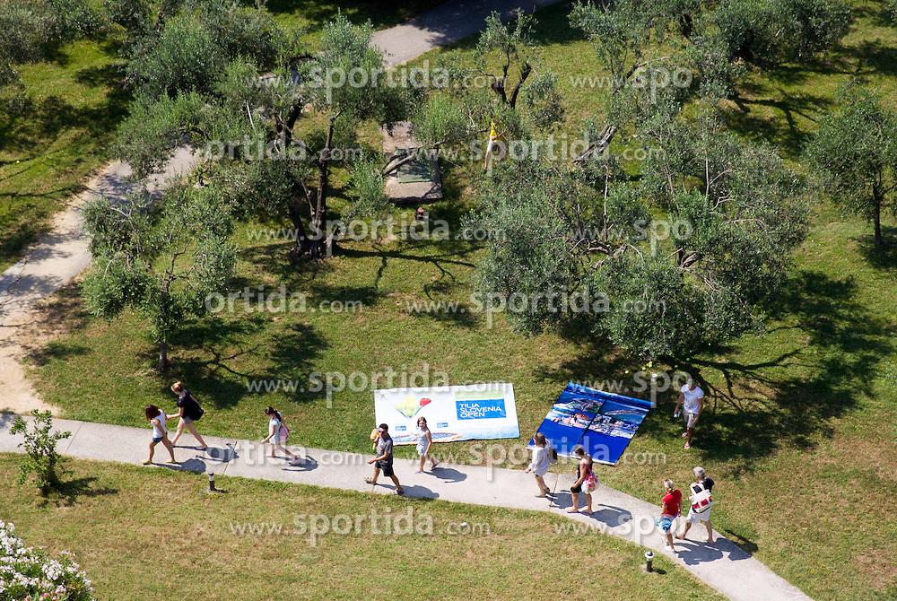 Target during press conference of ATP Challenger Tilia Slovenia Open 2013, on June 20, 2013 in Hotel Metropol, Portoroz, Slovenia. (Photo By Vid Ponikvar / Sportida)