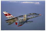 F-100F Super Sabre, air-to-air