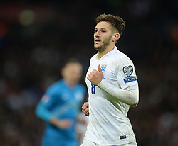 Adam Lallana of England (Liverpool) - Photo mandatory by-line: Alex James/JMP - Mobile: 07966 386802 - 15/11/2014 - SPORT - Football - London - Wembley - England v Slovenia - EURO 2016 Qualifier