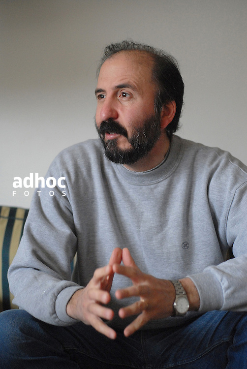 Jose Nunes, del Partido Socialista de Uruguay. Montevideo, 2007.<br /> URUGUAY / MONTEVIDEO / <br /> Foto: Ricardo Ant&uacute;nez / AdhocFotos<br /> www.adhocfotos.com