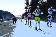 44° Marcialonga di Fassa e di Fiemme, a sinistra Bruno de Bertolis 29 gennaio 2017 © foto Remo Mosna