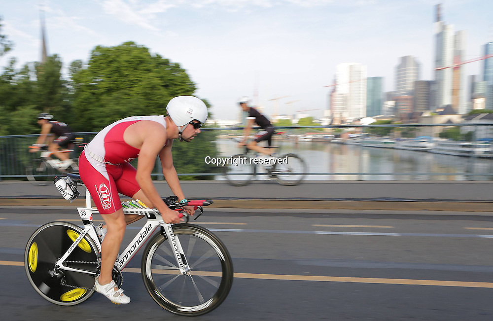 06.07.2014, Frankfurt, Germany. Ironman European Championships.  Damien WITH (FRA)