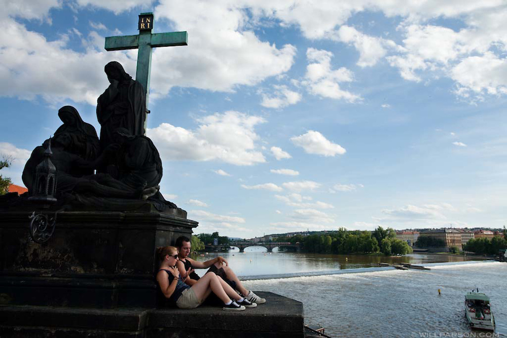 Prague, Czech Republic in summer.