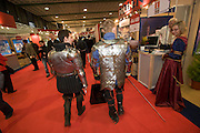 ITB (Internationale Tourismusbörse) 2005, World's largest tourism fair..Polish Knights.