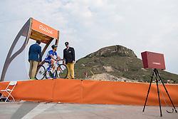 Quentin Aubague, FRA, Cyclisme - T1-2, Contre La Montre at Rio 2016 Paralympic Games, Brazil