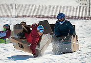 Cardboard Sled Derby 26Feb14