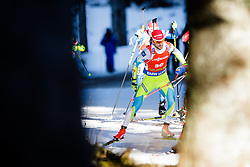 competes during Men 12,5 km Pursuit at day 3 of IBU Biathlon World Cup 2015/16 Pokljuka, on December 19, 2015 in Rudno polje, Pokljuka, Slovenia. Photo by Ziga Zupan / Sportida
