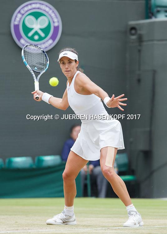 GARBI&Ntilde;E MUGURUZA (ESP)<br /> <br /> Tennis - Wimbledon 2017 - Grand Slam ITF / ATP / WTA -  AELTC - London -  - Great Britain  - 11 July 2017.