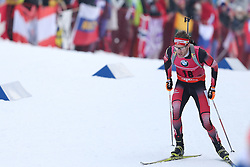 10.03.2016, Holmenkollen, Oslo, NOR, IBU Weltmeisterschaft Biathlion, Oslo, 20km, Herren, im Bild Simon Eder (AUT) // during Mens 20km individual Race of the IBU World Championships, Oslo 2016 at the Holmenkollen in Oslo, Norway on 2016/03/10. EXPA Pictures © 2016, PhotoCredit: EXPA/ Newspix/ Tomasz Jastrzebowski<br /> <br /> *****ATTENTION - for AUT, SLO, CRO, SRB, BIH, MAZ, TUR, SUI, SWE only*****