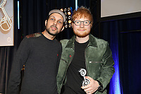 Ed Sheeran on stage with Dynamo during the O2 Silver Clef Awards 2019, Grosvenor House, London, UK, Friday 05 July 2019<br /> Photo JM Enternational