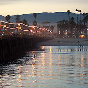 The Pier at Santa Barbara, CA.