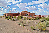 Painted Desert Inn.Petrified Forest National Park, Arizona.