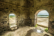 View from inside Fort San Lorenzo near Colon, Panama.