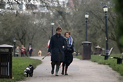 EXCLUSIVE: Helena Bonham Carter, 53, and boyfriend Rye Dag Holmboe, 32, get the new year off to a healthy start with a green juice and a dog walk heir relationship has been going from strength to strength since they started dating more than a year ago. And Helena Bonham Carter, 53, and her boyfriend Rye Dag Holmboe, 32, got 2020 off to a healthy start with a green juice and a dog walk on Hampstead Heath, north London, on Friday. The Crown actress looked loved-up as she linked arms with the writer as the couple walked their adorable pooch,. 03 Jan 2020 Pictured: Helena Bonham Carter Rye Dag Holmboe. Photo credit: MEGA TheMegaAgency.com +1 888 505 6342