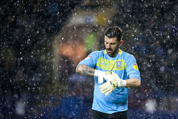 Keiren Westwood of Sheffield Wednesday stands in the rain - Mandatory by-line: Robbie Stephenson/JMP - 04/03/2019 - FOOTBALL - Hillsborough - Sheffield, England - Sheffield Wednesday v Sheffield United - Sky Bet Championship