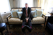Daniel Handler, author of the Lemony Snicket series, is photographed at home in San Francisco, Calif., Monday, October 15, 2012.