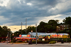 A summer evening at the Trolley Car Diner and Ice Cream Parlour on Germantown Avnue.  (Bas Slabbers/for NewsWorks)