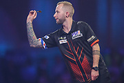 Danny Noppert during the PDC William Hill World Darts Championship at Alexandra Palace, London, United Kingdom on 19 December 2019.
