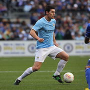 Gareth Barry, Manchester City, in action during the Manchester City V Chelsea friendly exhibition match at Yankee Stadium, The Bronx, New York. Manchester City won the match 5-3. New York. USA. 25th May 2012. Photo Tim Clayton