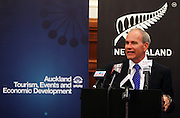 Auckland Mayor Len Brown, Press conference to announce Auckland, New Zealand as the host city for the 2017 World Masters Games. Auckland Town Hall Councillors Chambers, Auckland. 15 March 2012. Photo: William Booth/photosport.co.nz