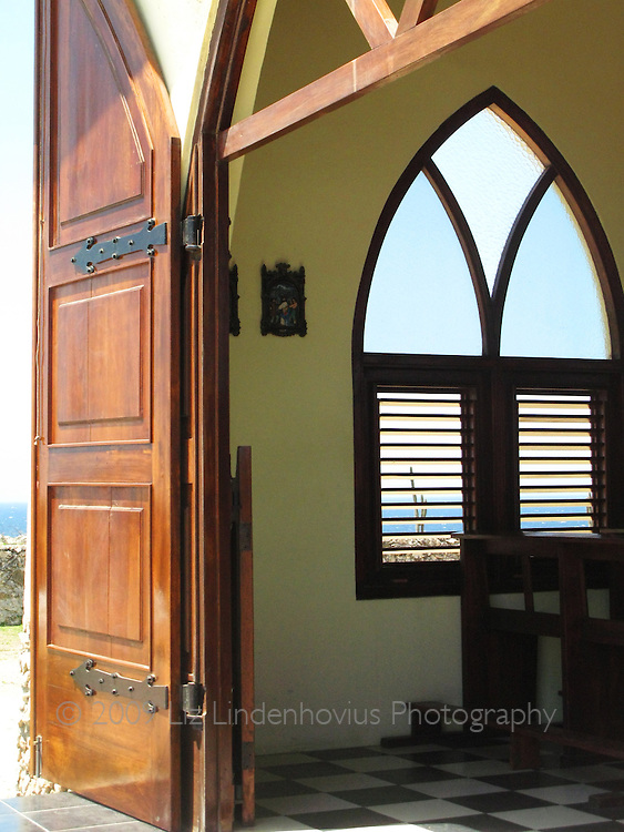 Interior, Alto Vista Chapel Aruba