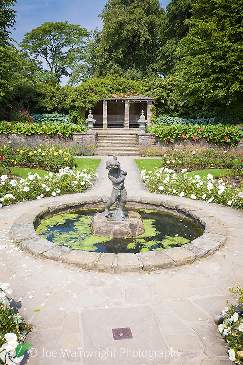 The Edwardian Garden at Lyme Park, Disley, Cheshire.  Photographed in July.