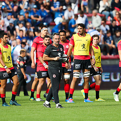 Ugo MOLA of Toulouse during the Top 14 match between Toulouse and Castres at Stade Ernest Wallon on October 12, 2019 in Toulouse, France. (Photo by Manuel Blondeau/Icon Sport) - Ugo MOLA - Stade Ernest-Wallon - Toulouse (France)