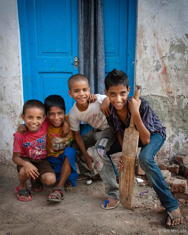 The Cricket Team - Dharavi Slum, Mumbai, India
