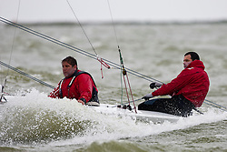 Torben Grael and Marcelo Ferreira, BRA, Star, Day 5, May 28th, Delta Lloyd Regatta in Medemblik, The Netherlands (26/30 May 2011).