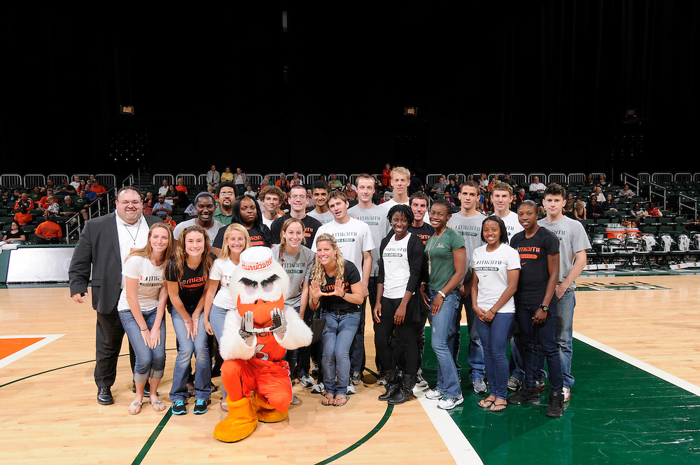 2012 Miami Hurricanes Women's Basketball vs Virginia Tech