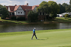 September 22, 2018 - Atlanta, Georgia, United States - Tiger Woods walks the 8th fairway during the third round of the 2018 TOUR Championship. (Credit Image: © Debby Wong/ZUMA Wire)