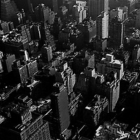 Midtown Manhattan, view from top of Rockefeller Center.
