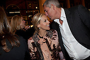 TORY BURCH; LYOR COHEN,Santa Sebag Montefiore and Asprey's host a book launch for Jerusalem: the Biography by Simon Sebag Montefiore. Asprey. New Bond St. London. 26 January 2010. -DO NOT ARCHIVE-© Copyright Photograph by Dafydd Jones. 248 Clapham Rd. London SW9 0PZ. Tel 0207 820 0771. www.dafjones.com.