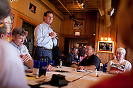 Republican presidential hopeful Rick Santorum campaigns on Thursday, July 28, 2011 in Burlington, IA.