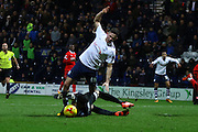 Preston North End Midfielder Alan Browne during the Sky Bet Championship match between Preston North End and Charlton Athletic at Deepdale, Preston, England on 23 February 2016. Photo by Pete Burns.