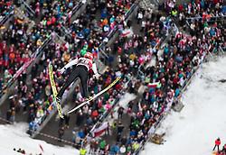 05.02.2017, Heini Klopfer Skiflugschanze, Oberstdorf, GER, FIS Weltcup Ski Sprung, Oberstdorf, Skifliegen, im Bild Janne Ahonen (FIN) // Janne Ahonen of Finland during mens FIS Ski Flying World Cup at the Heini Klopfer Skiflugschanze in Oberstdorf, Germany on 2017/02/05. EXPA Pictures © 2017, PhotoCredit: EXPA/ Peter Rinderer