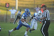 Water Valley's E.J. Bounds (5) vs. Senatobia in Water Valley, Miss. on Monday, September 23, 2013. Water Valley won 45-7 to improve to 5-0.