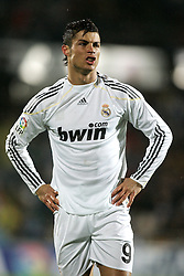 25.03.2010, Coliseum Alfonso Perez, Madrid, ESP, Primera Divison, FC Getafe vs Real Madrid, im Bild Real Madrid's Cristiano Ronaldo verärgert, zornig, aggresiv, EXPA Pictures © 2010, PhotoCredit: EXPA/ Alterphotos/ Alvaro Hernandez / SPORTIDA PHOTO AGENCY