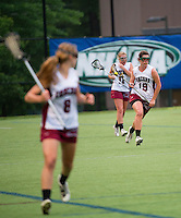 Division I girls lacrosse Concord Tide versus Exeter semi final round tournament play June 3, 2012 at SNHU.   (Karen Bobotas/for the Concord Monitor)
