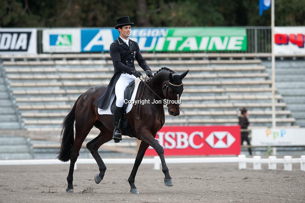 Jonathan Paget (NZL) &  Clifton Promise - Dressage - Les Etoiles de Pau CCI4**** 2012 - Pau, France - 26 October 2012