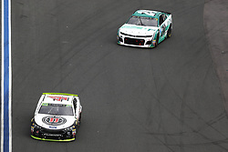 September 30, 2018 - Concord, North Carolina, United States of America - Kevin Harvick (4) races during the Bank of America ROVAL 400 at Charlotte Motor Speedway in Concord, North Carolina. (Credit Image: © Chris Owens Asp Inc/ASP via ZUMA Wire)