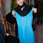 NLD/Amsterdam/20091008 - Designer Vintage for Charity party, Monique des Bouvrie