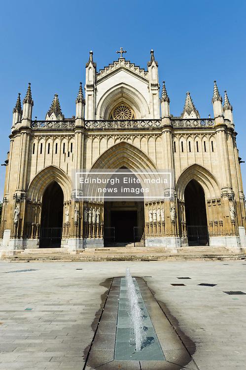 Cathedral of Santa María, Vitoria Gasteiz, Spain<br /> <br /> (c) Andrew Wilson | Edinburgh Elite media