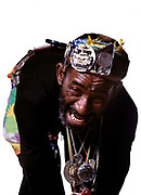 Lee Scratch Perry  In a secret laboratory, called Matrix Studios, London 1989