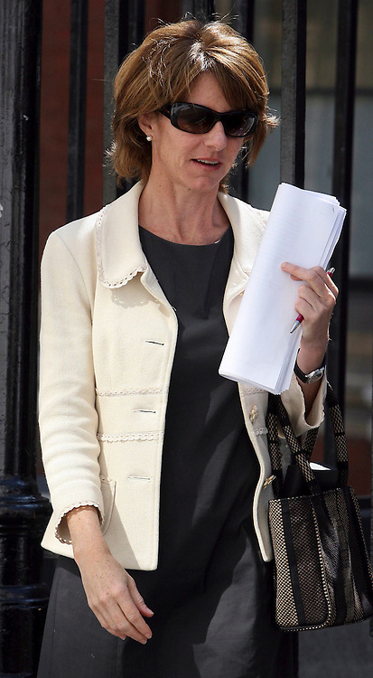 Pics Show Elena Bowes Marano leaving The High Court in London today..The ex-wife of a multi-millionaire property developer, ordered by a divorce judge to pay him £5 million to offset his losses in the credit crunch, is now at the centre of an Appeal Court test case.. .And Elena Bowes Marano has now won the first stage of her fight to overturn the ruling in a case which could impact on dozens of other high profile divorce disputes.. ..