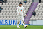 Liam Dawson of Hampshire during the Specsavers County Champ Div 1 match between Hampshire County Cricket Club and Worcestershire County Cricket Club at the Ageas Bowl, Southampton, United Kingdom on 13 April 2018. Picture by Graham Hunt.