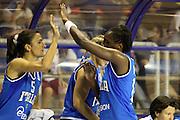 Taranto 08-06-2011<br /> Qualifying Tournament Eurobasket Women 2011<br /> Italia-Romania<br /> Nella foto Nnena Abiola Wabara Mariachiara Franchini<br /> Foto di Ciamillo-Castoria
